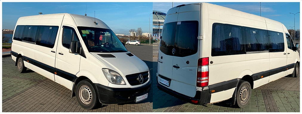 Mercedes-Benz Sprinter 19+1 мест, фото